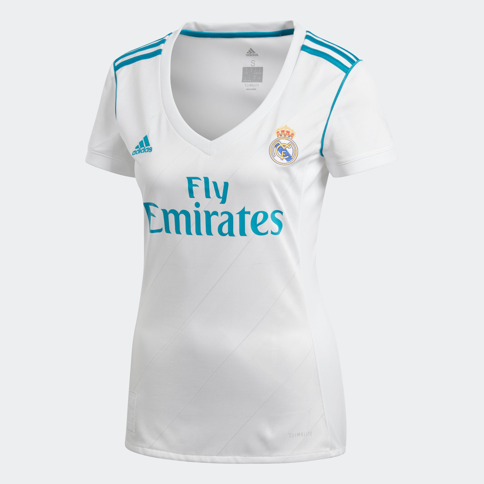 Women's Real Madrid Home Soccer Jersey 2017/18