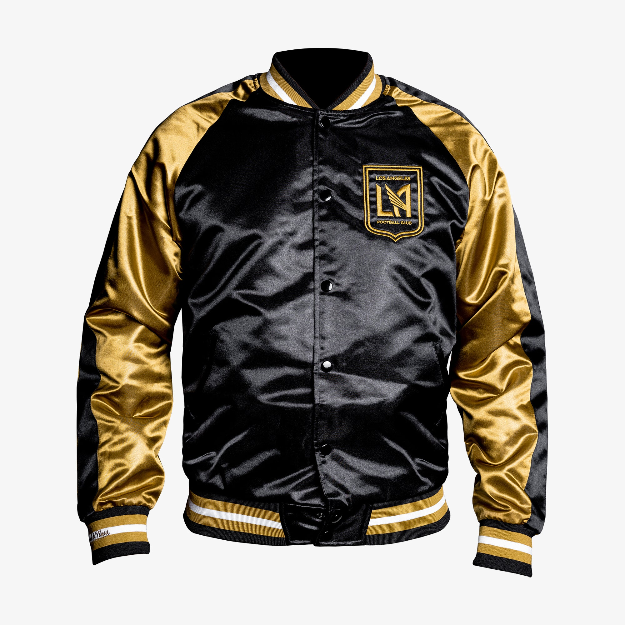 Men's LAFC Satin Black/Gold Jacket