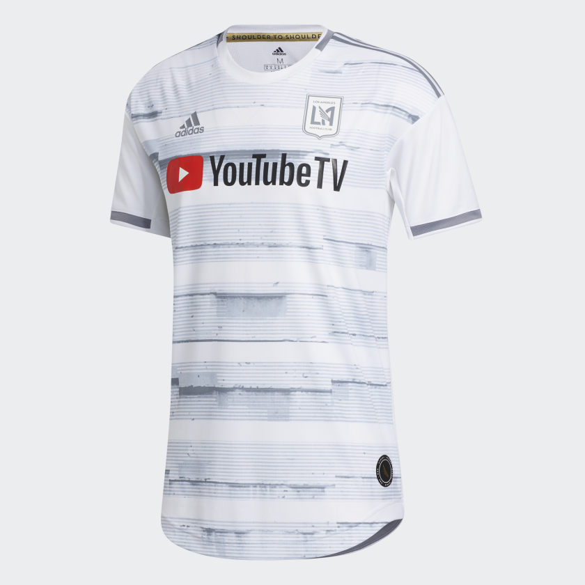 Men's LAFC Away Authentic Soccer Jersey