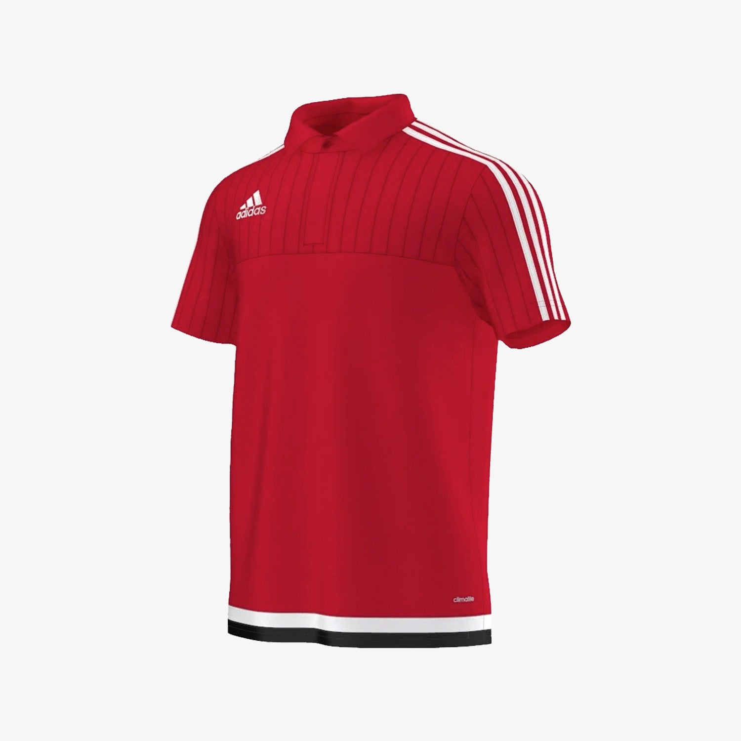 Men's Tiro 15 Climalite Soccer Polo - Red