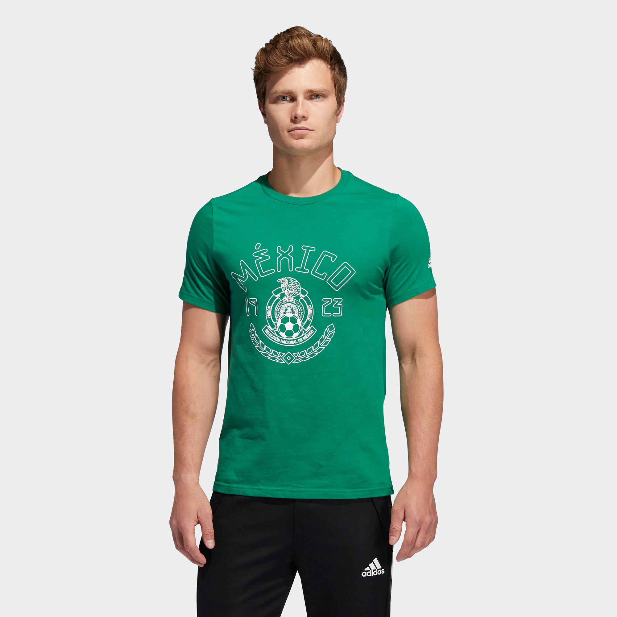 Mexico Amplifier S/S T-Shirt - Green/Kelly