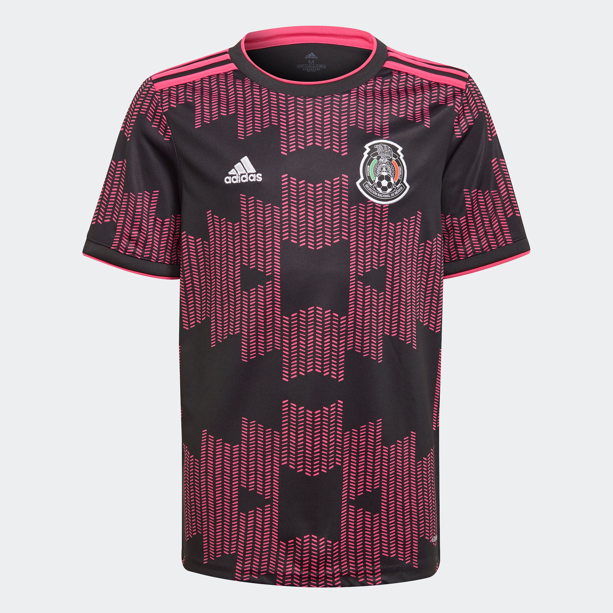 Mexico Home 20/21 Youth Jersey - White/Real Magenta