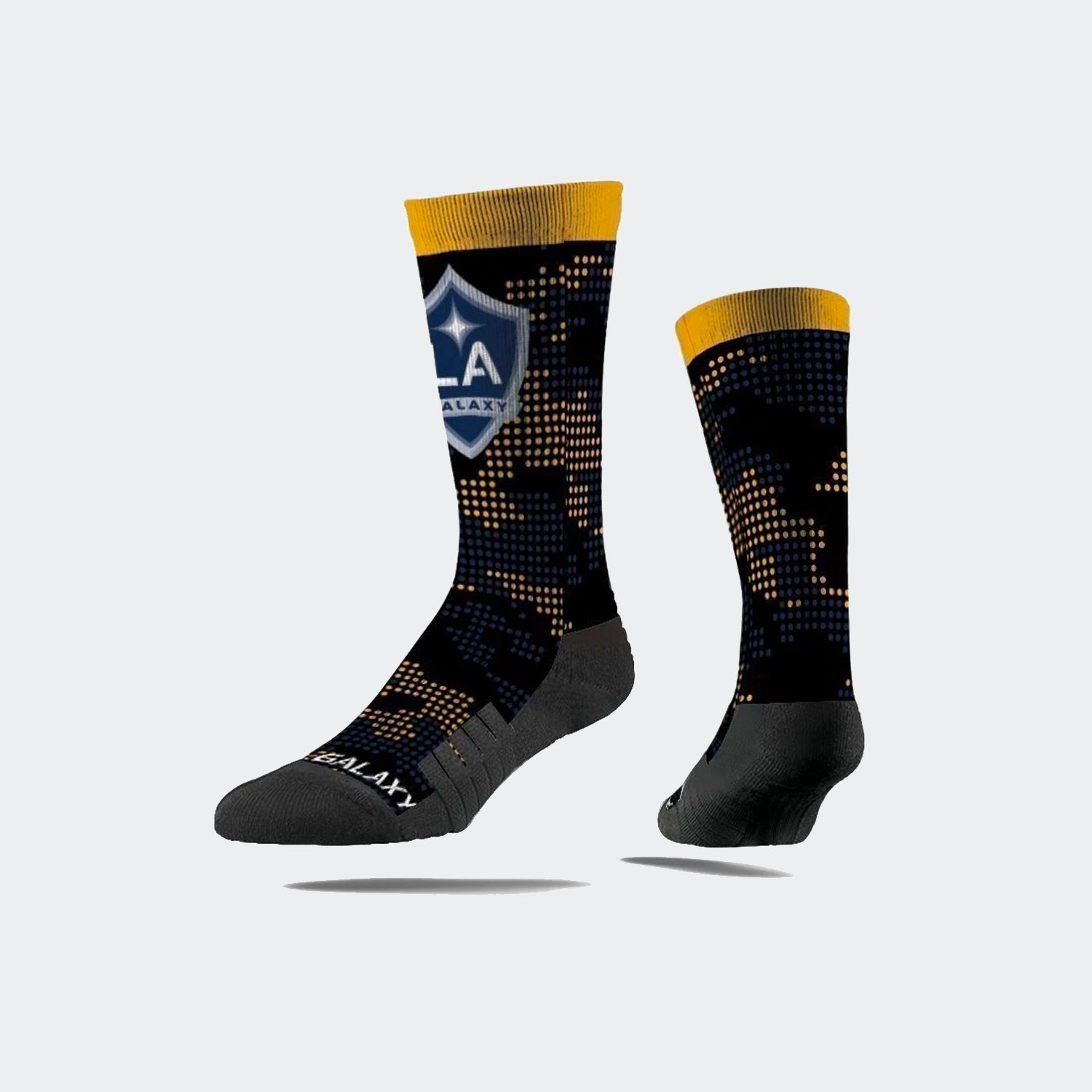LA Galaxy Black CFS Crew Sock