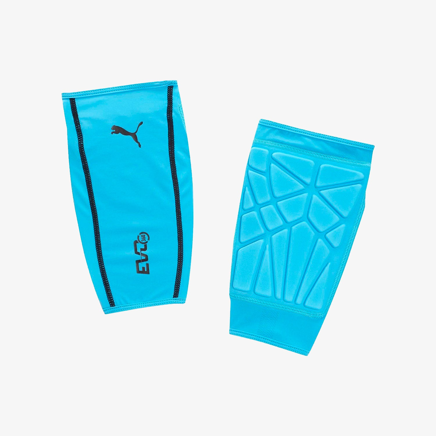Evo360 Protect Shin Guard Sleeves - Cyan