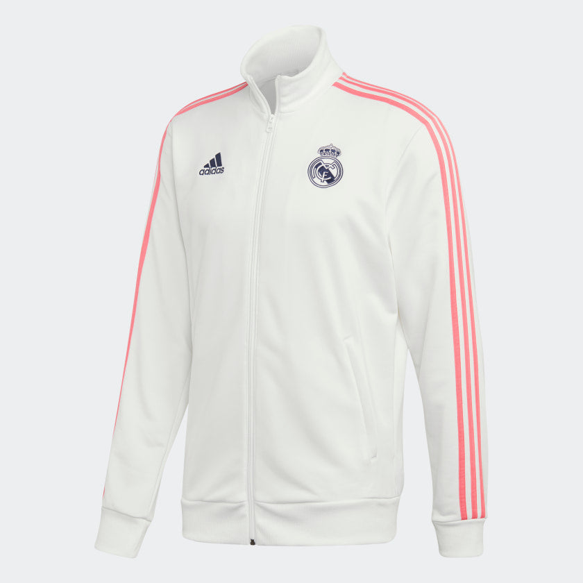 Real Madrid 3-Stripe Track Top