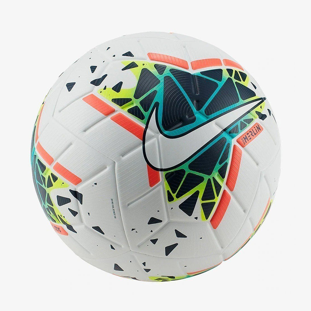 Merlin Official Match Ball White/Obsidian