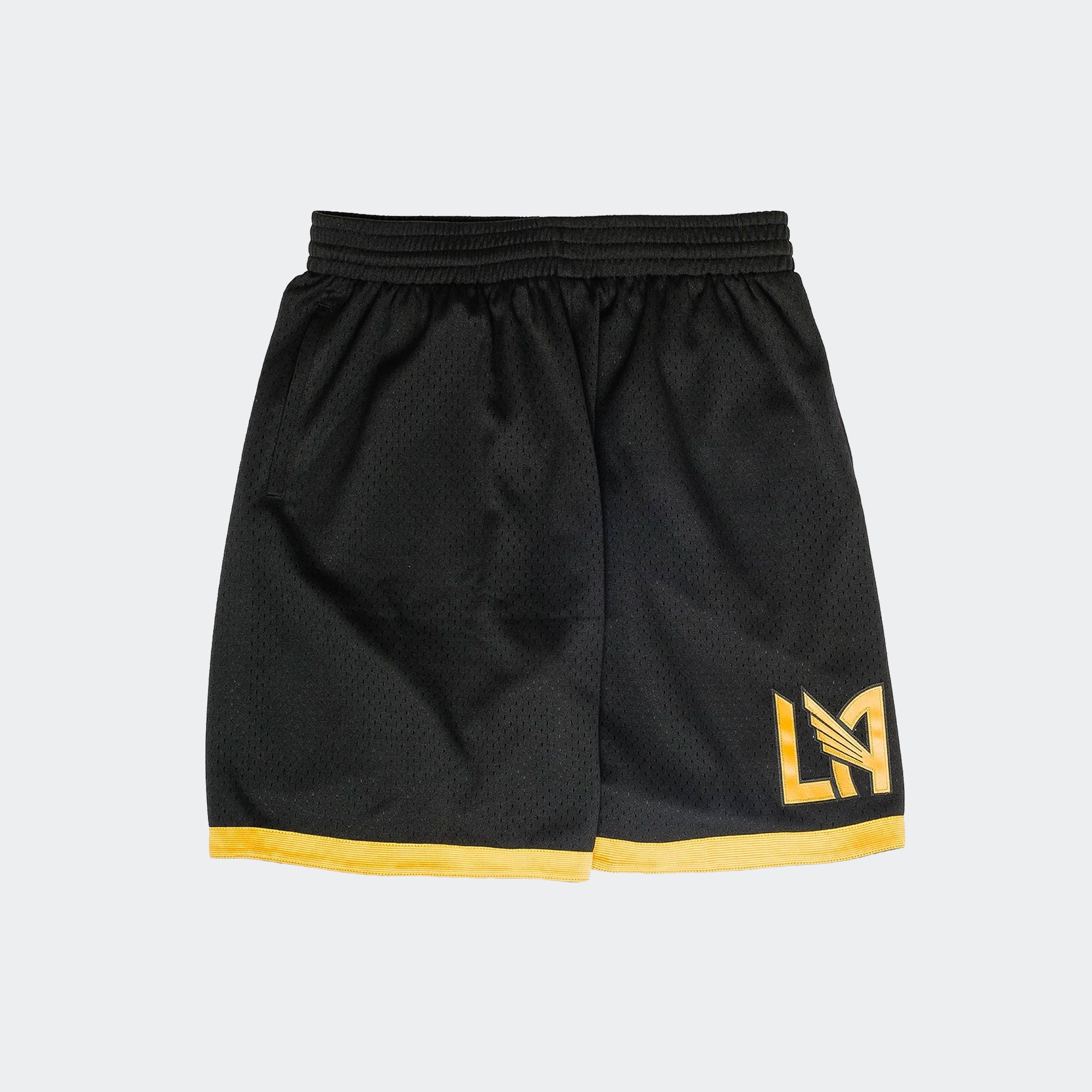 LAFC Mesh Pocket BBall Shorts Niky's Exclusive