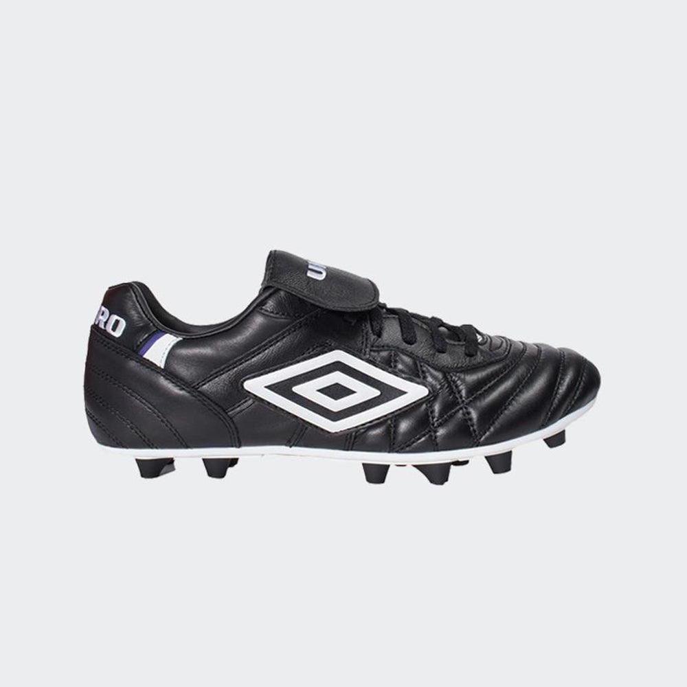 Speciali Pro 98 FG Soccer Cleats - Black/White