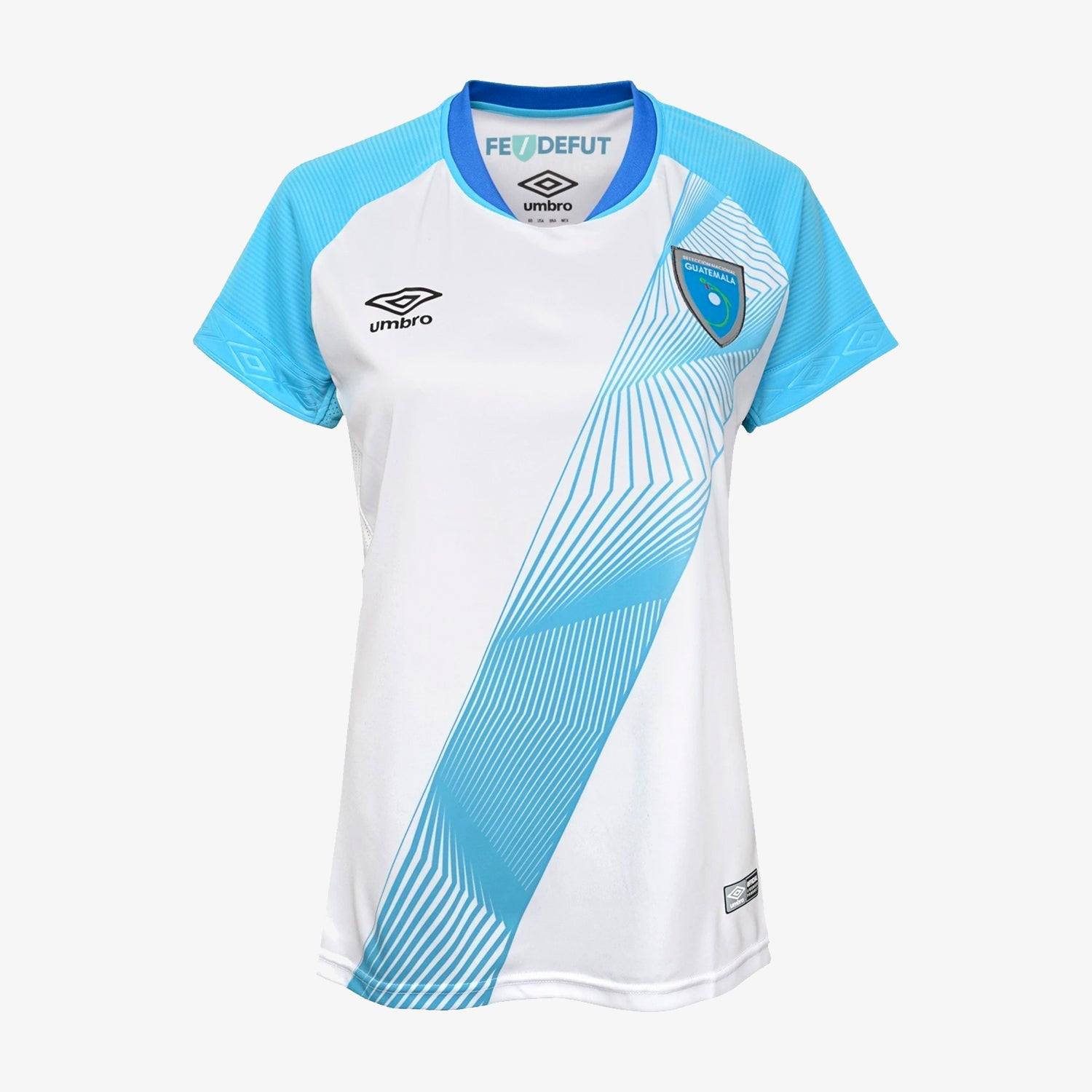 Womens Guatemala Home Soccer Jersey