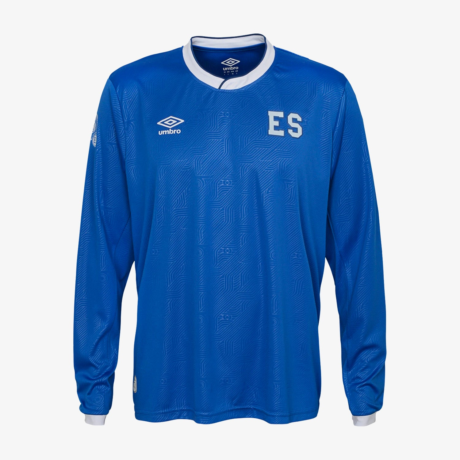 El Salvador Home Long Sleeve Jersey Men's