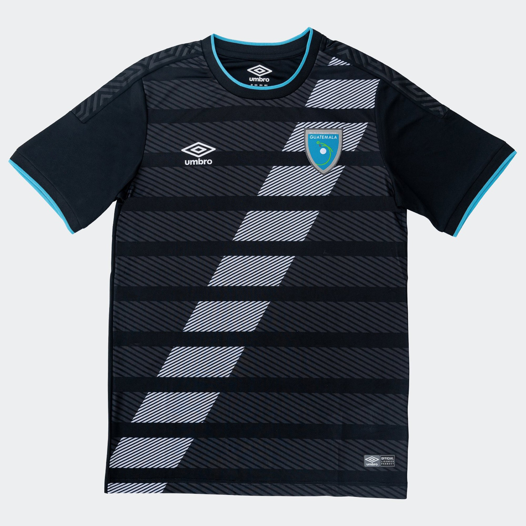 Guatemala Third Jersey Black Mens