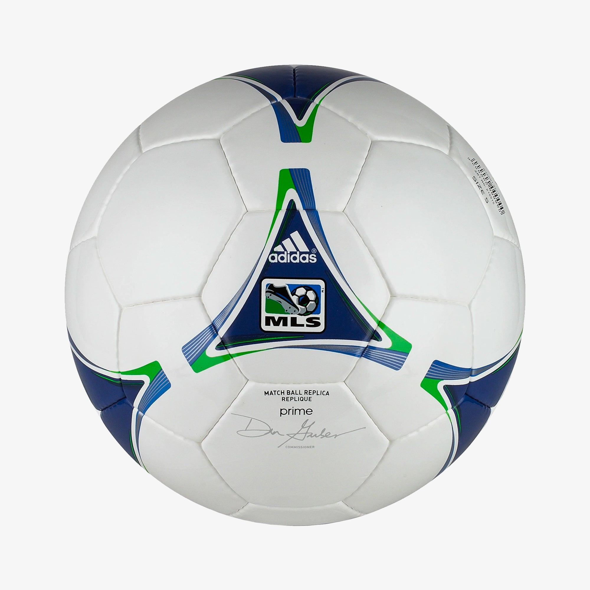 2012 MLS Replique Soccer Ball - White/Navy