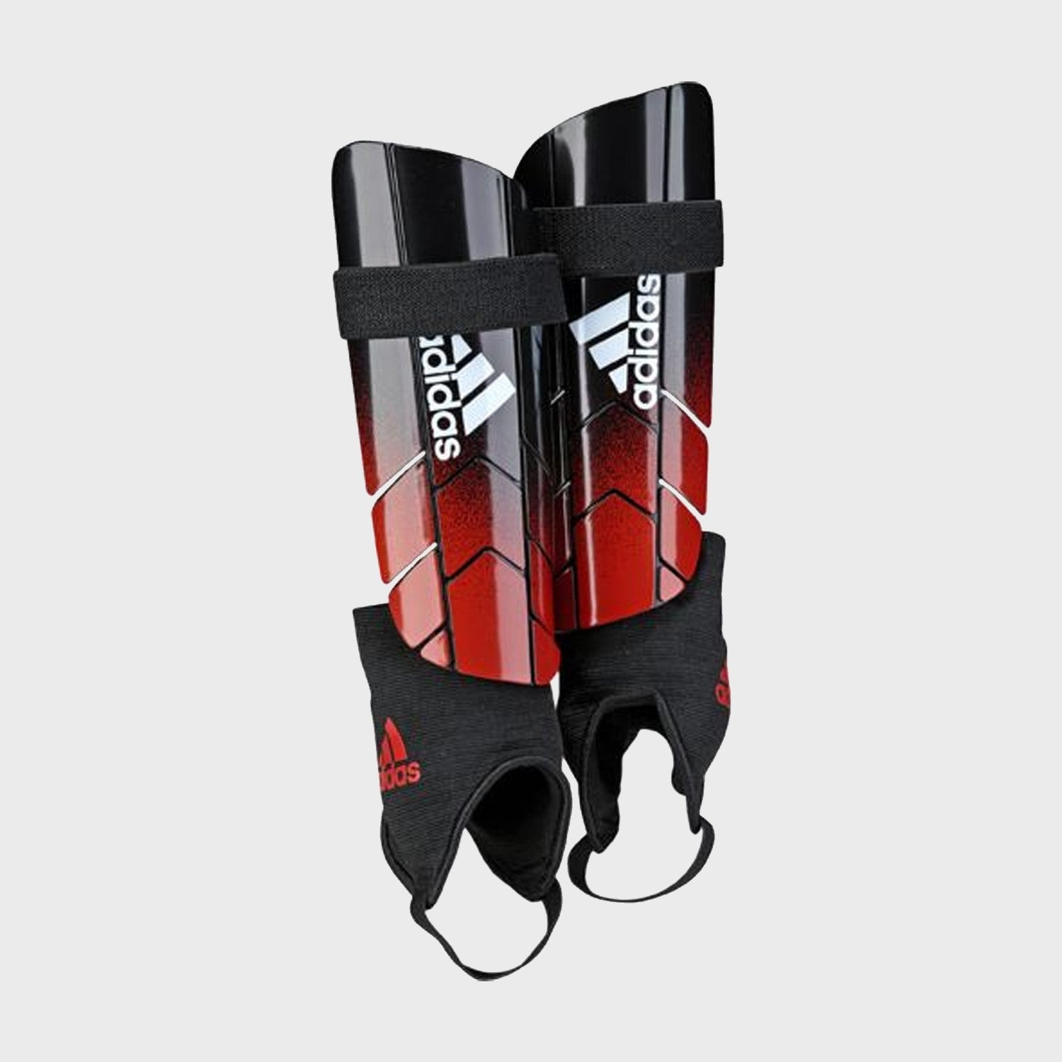 Adult's Ghost Reflex Shin Guards - Black/Red