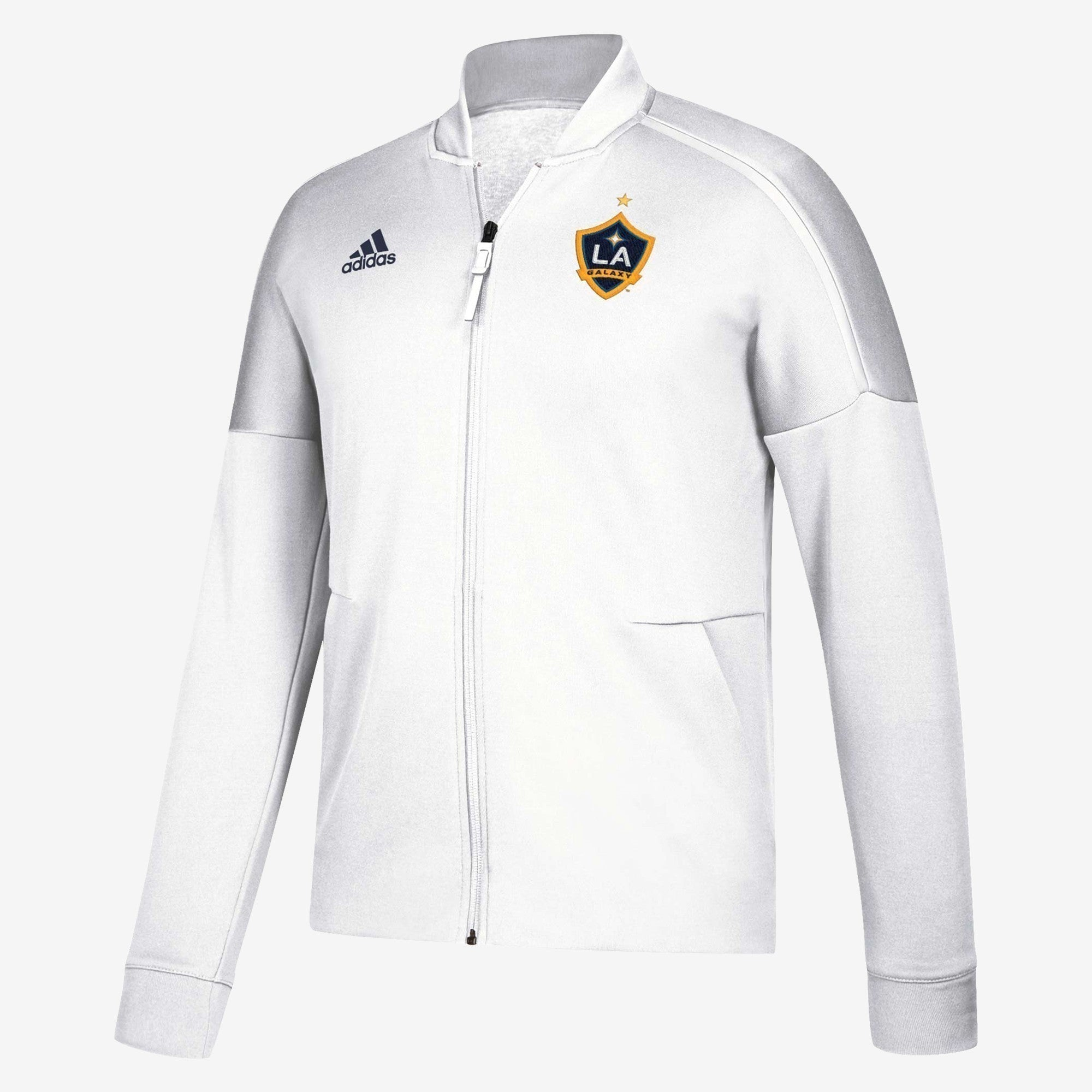 Men's LA Galaxy Anthem Jacket - White