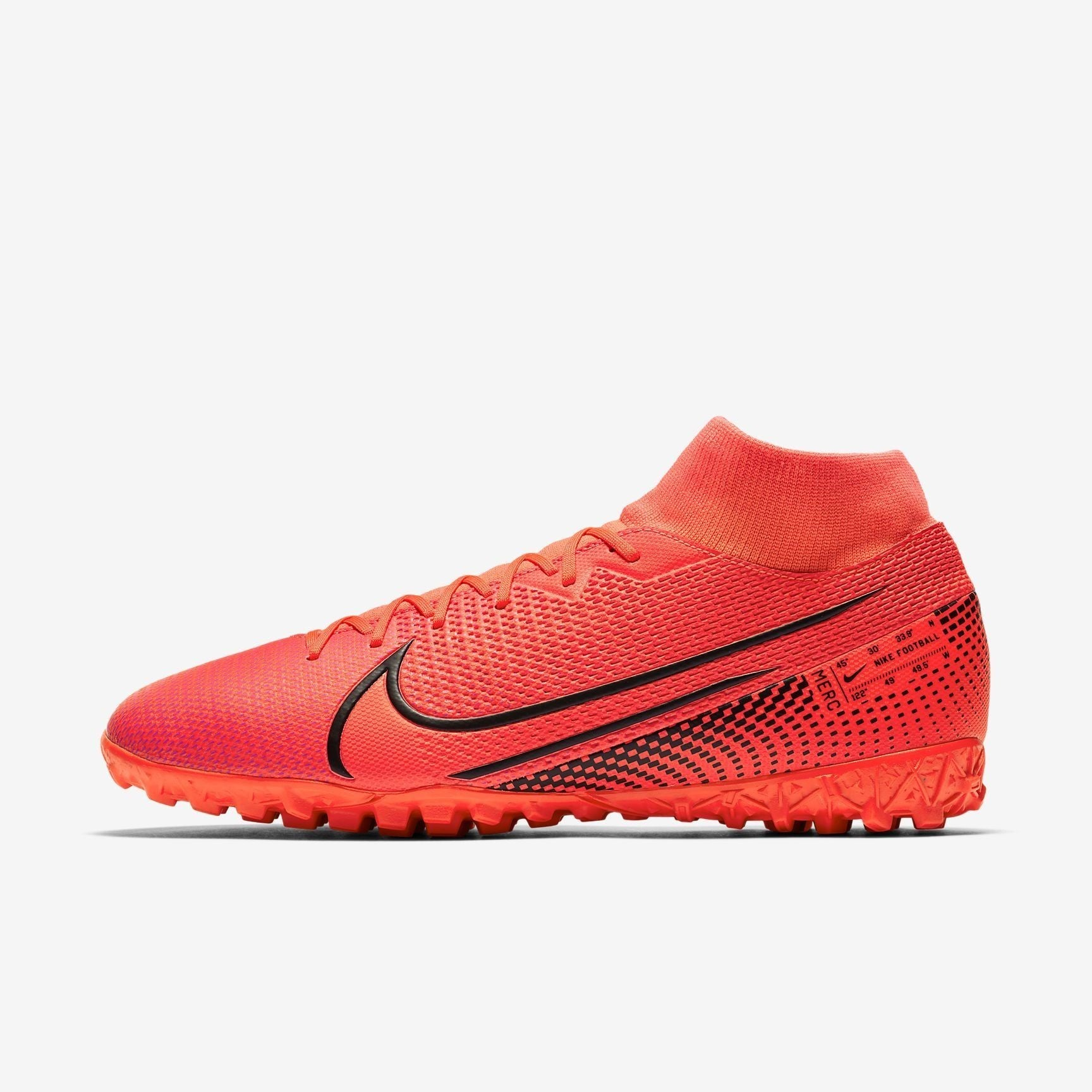 Men's Mercurial Superfly 7 Academy Turf Soccer Shoes