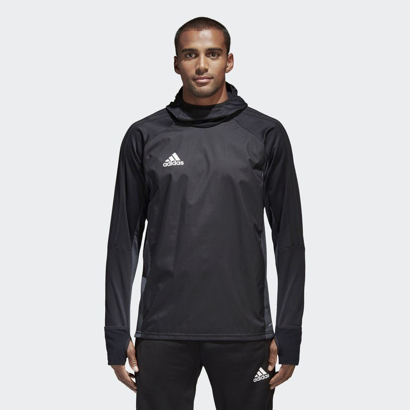 Youth Tiro 17 Warm Shirt Black