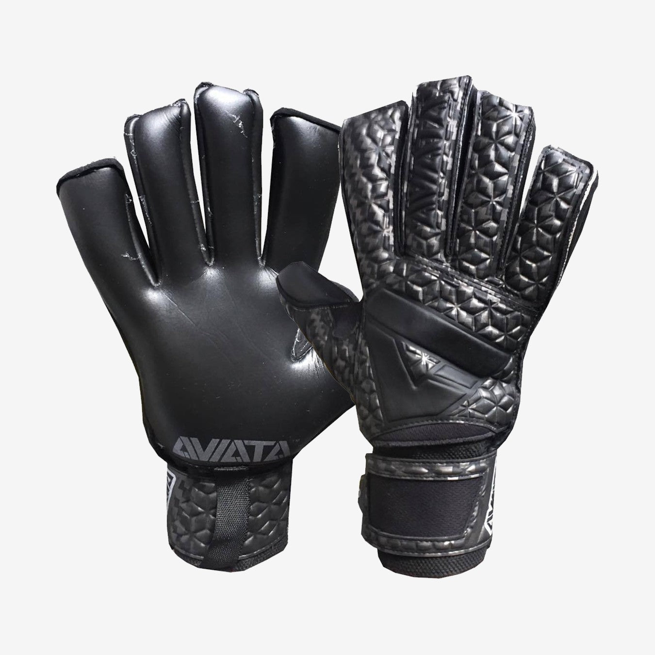 Viper Carbon Fibre V7 Goalkeeper Gloves - Black