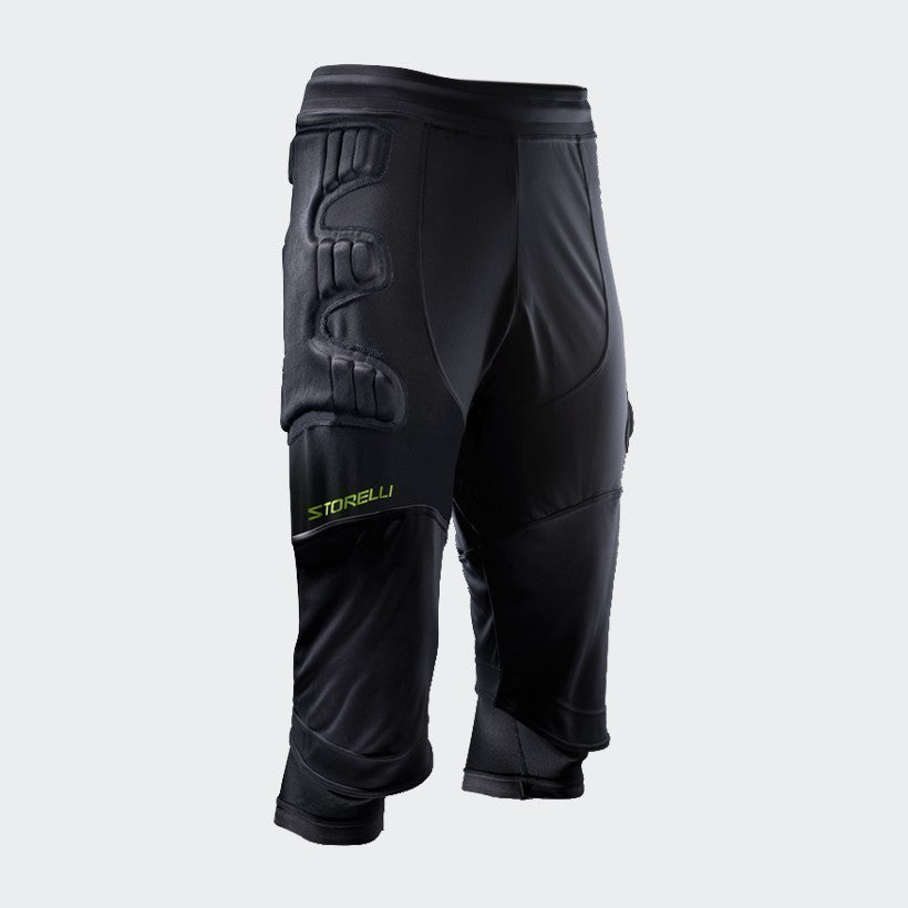 ExoShield  3/4 Goalkeeper Pants - Black