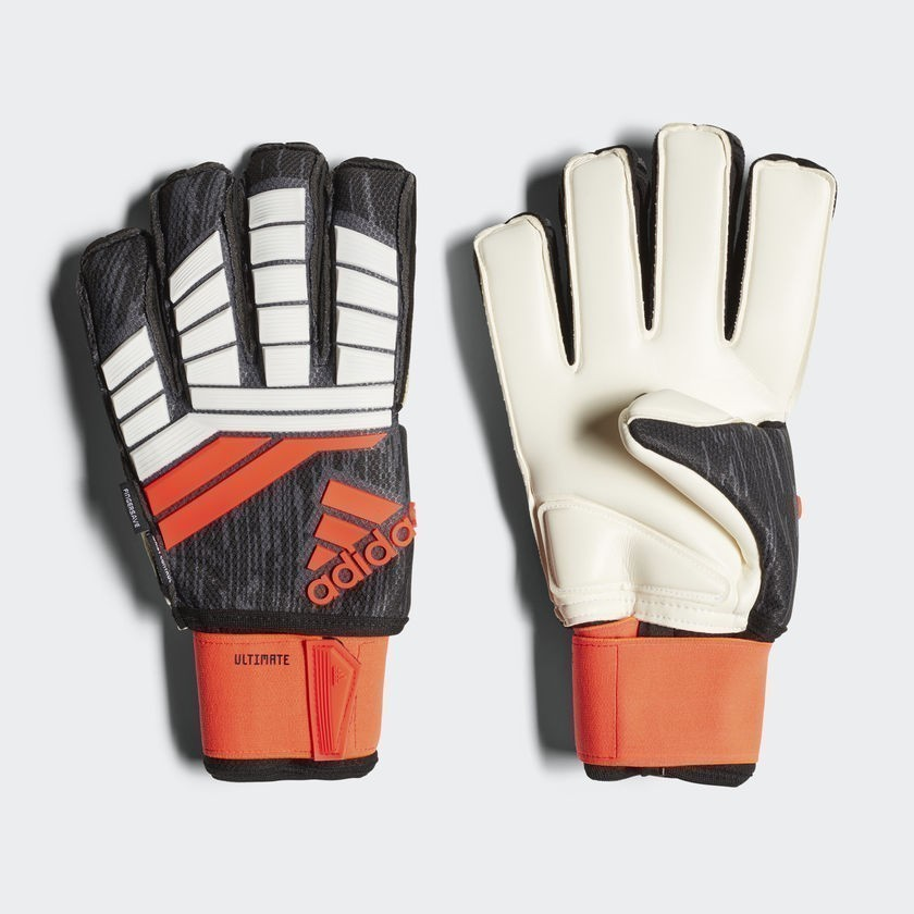 Predator 18 Ultimate Gloves - Solar Red / Black / White