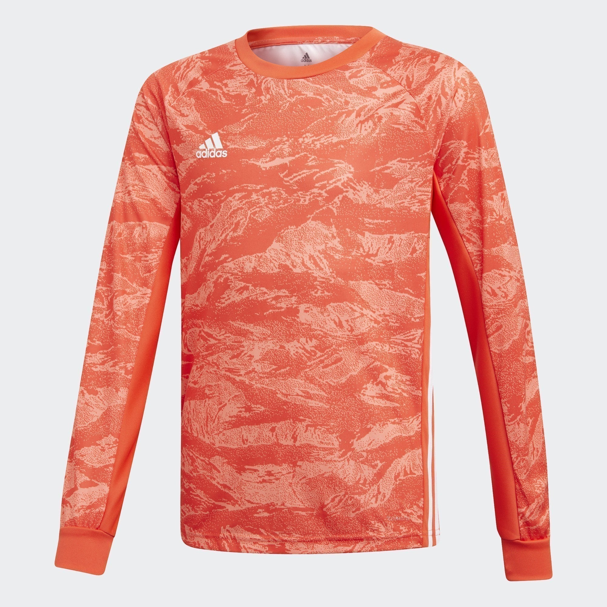 Kid's Adipro 19 Goalkeeper L/S Jersey - Semi Solar Red