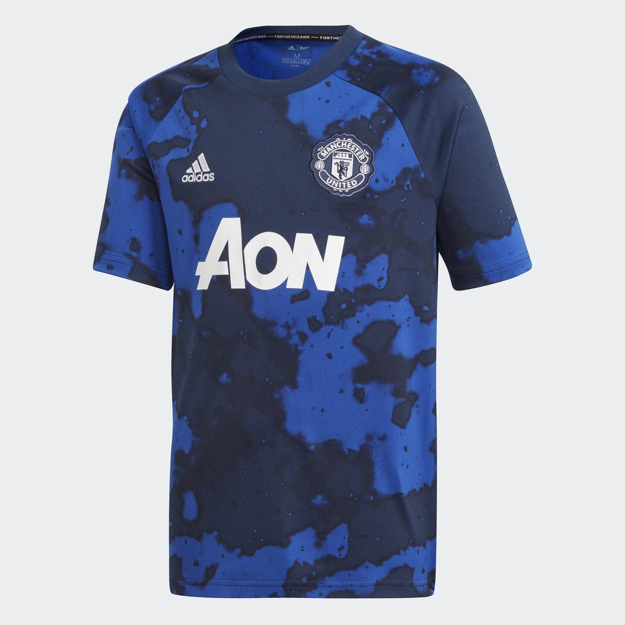 Kid's Manchester United Pre Match - Mystery Ink F17/Collegiate Navy