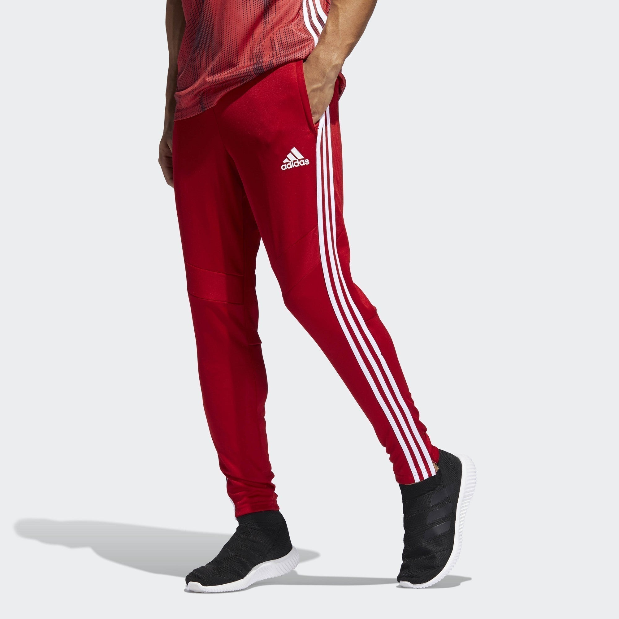 Men's Tiro 19 Training Pants - Red/White