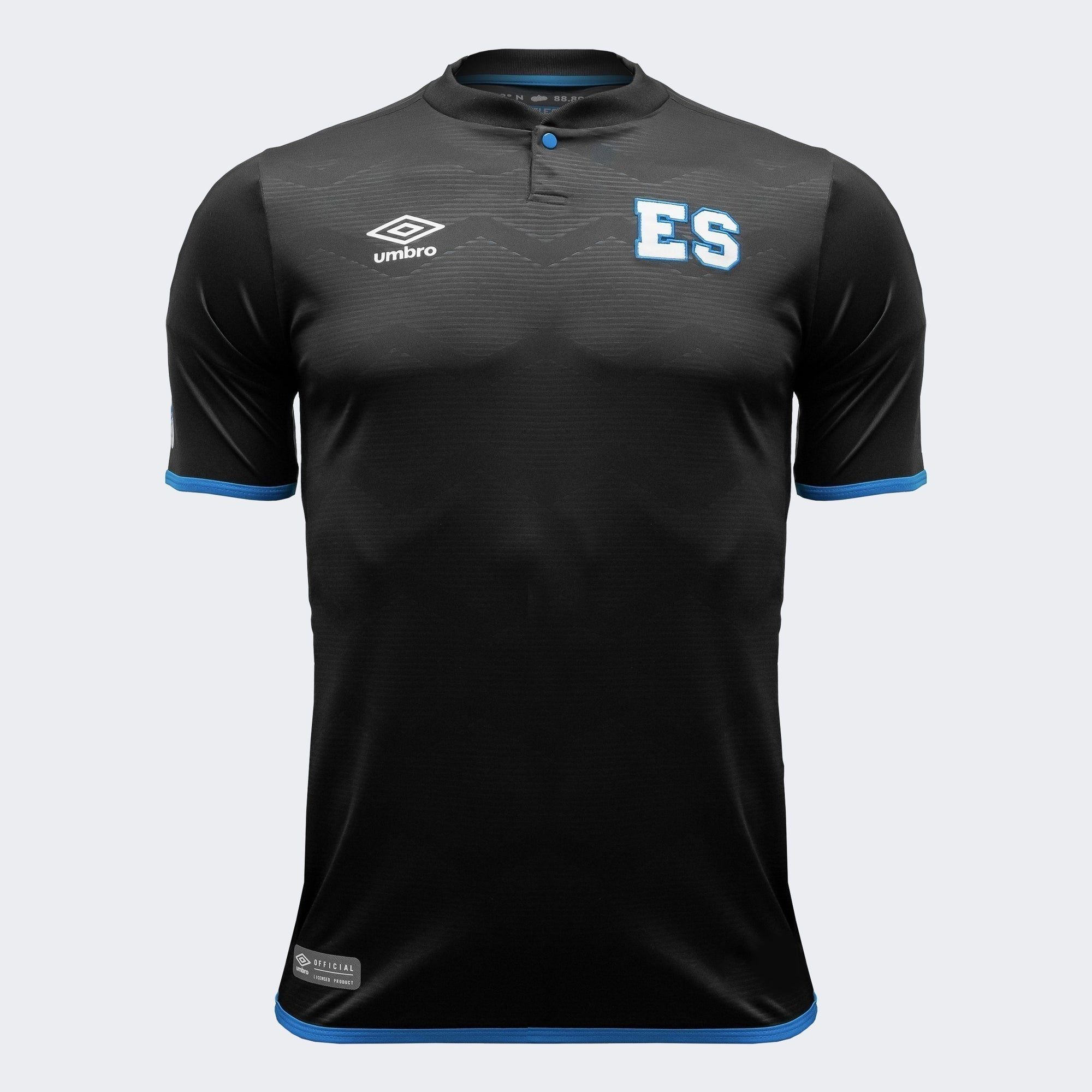 El Salvador 18/19 Third Jersey - Black/Blue