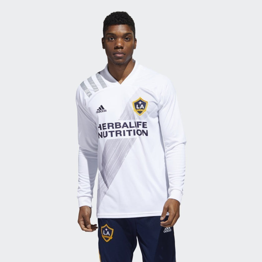 LA Galaxy Long Sleeve Stadium Home Jersey 20/21