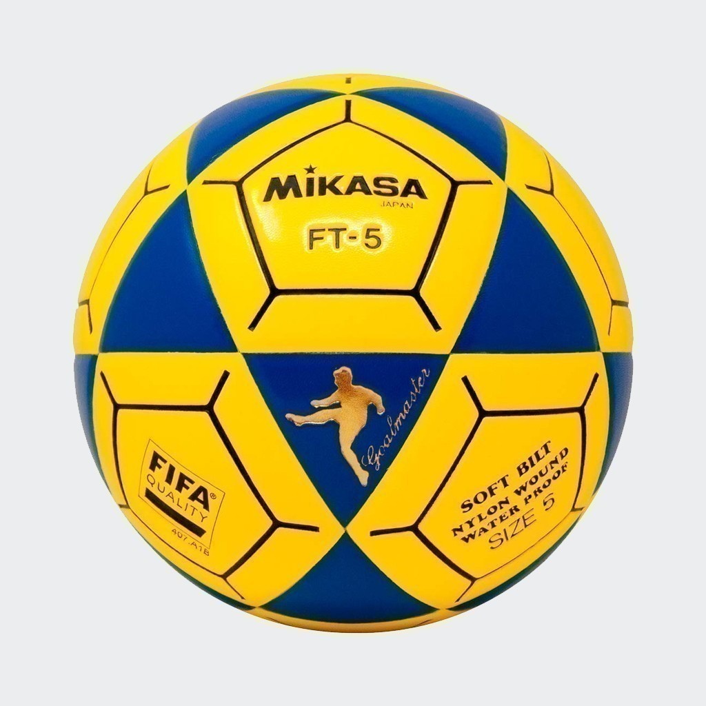 FT-5 Goal Master Soccer Ball - Black/Yellow