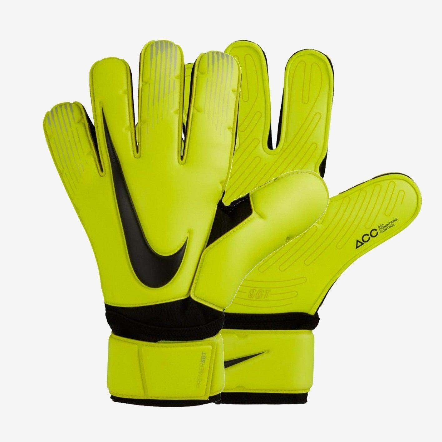 Men's Premier SGT Goalkeeper Gloves - Volt/Black