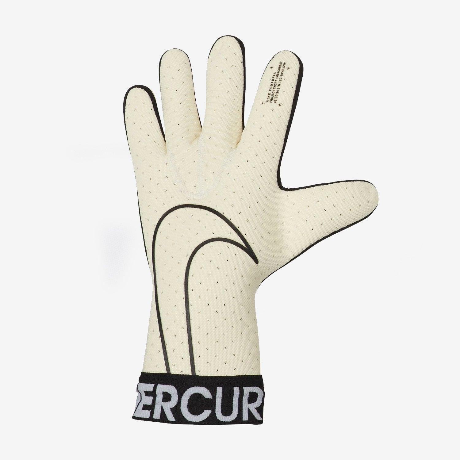 Mercurial Touch Elite FA19 Goalkeeper Gloves - White/Black
