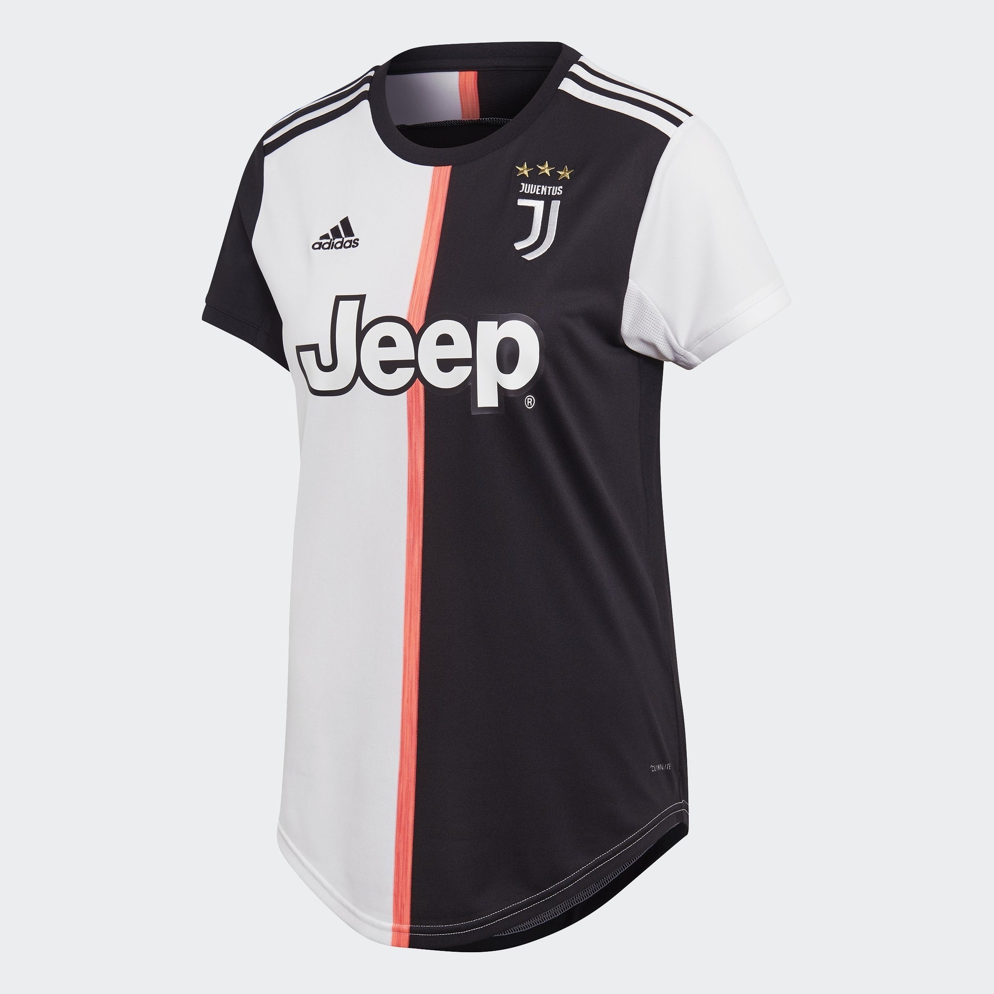 Women's Juventus Home Jersey - Black/White