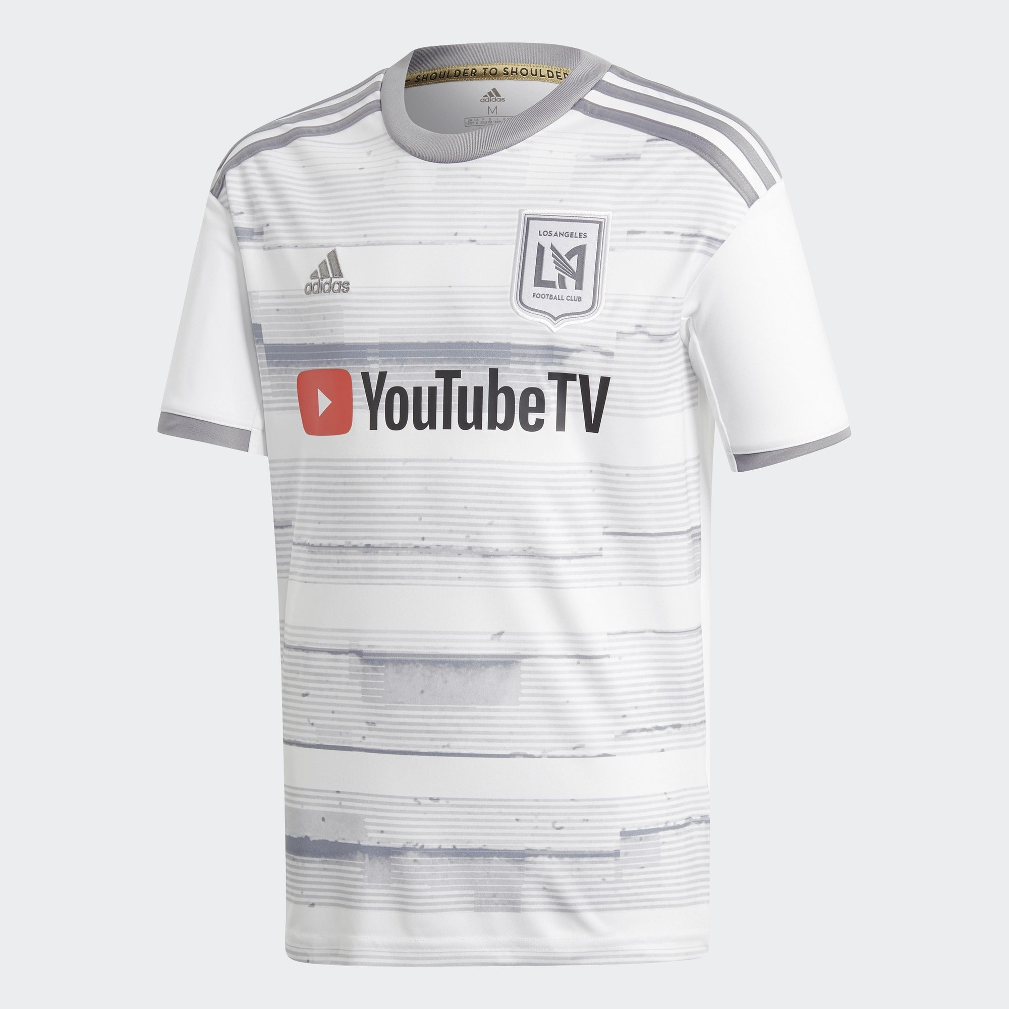 Kid's LAFC 19 Away Jersey - White