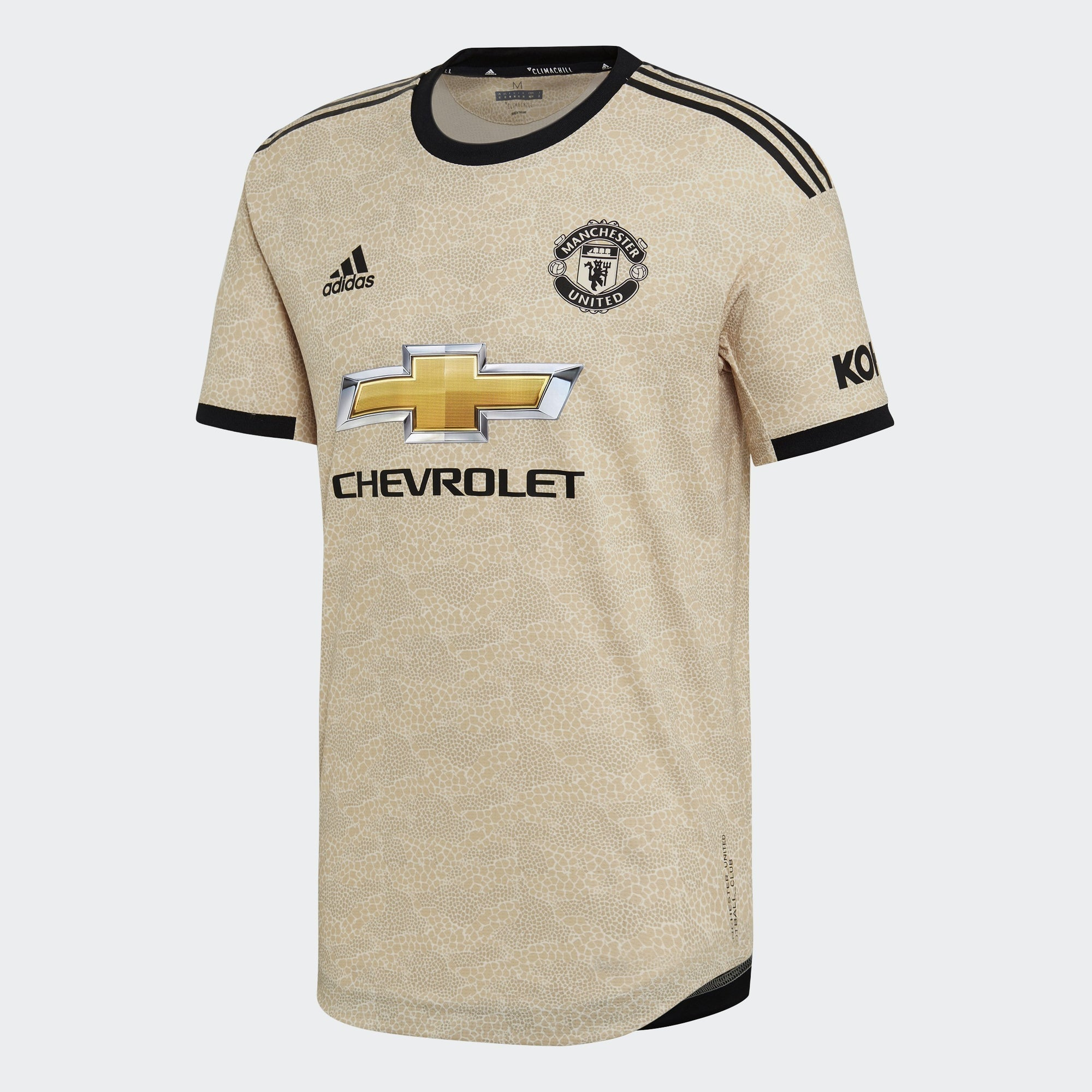 Manchester United Authentic Away Jersey - Linen