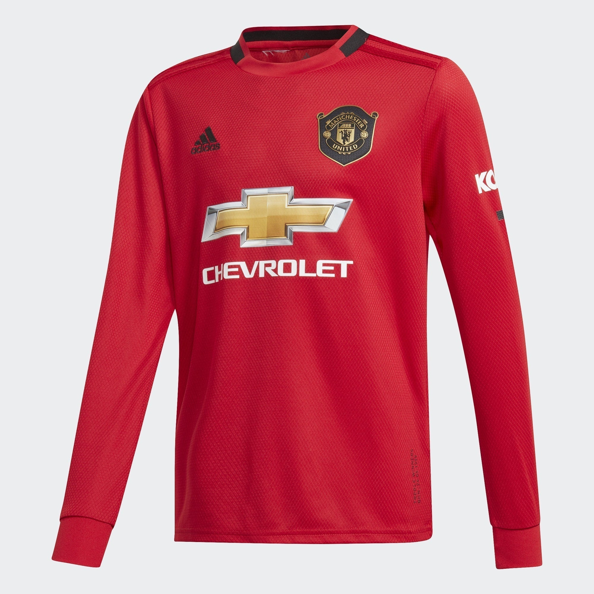 Kid's Manchester United Home Jersey - Real Red