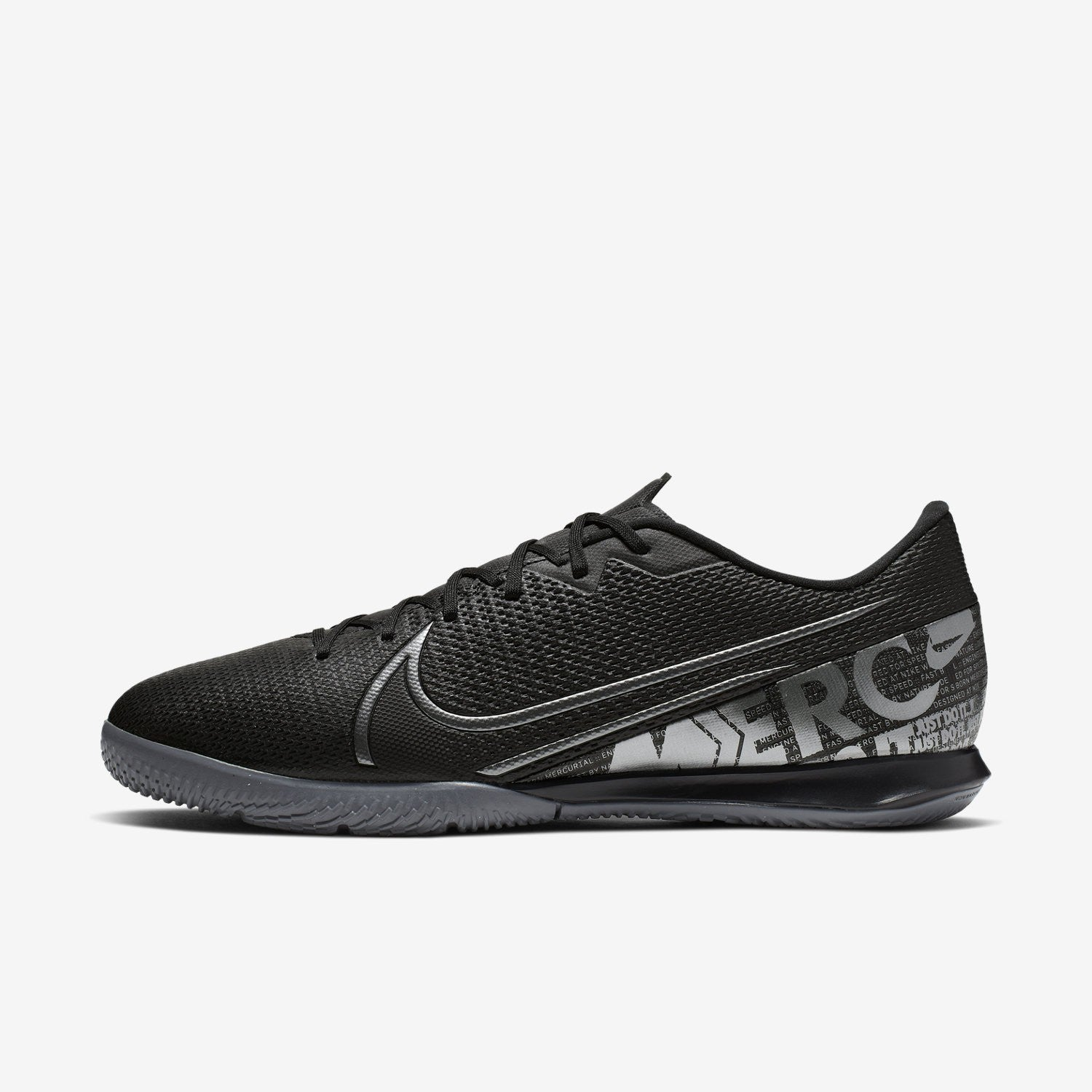 Mercurial Vapor 13 Academy Indoor Shoes - Black/Cool Grey