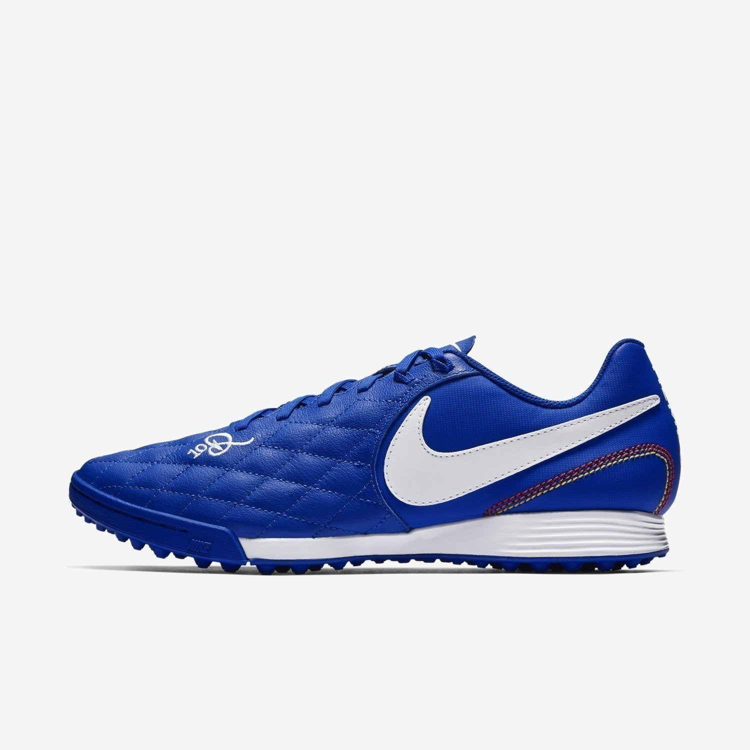 TiempoX Legend 7 Academy 10R Turf Shoes - Game Royal/White