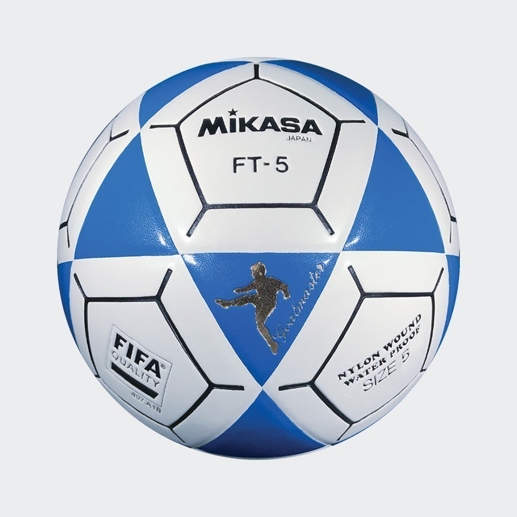 FT5 Goal Master Soccer Ball - Blue/White
