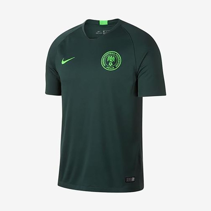 Kid's Nigeria Away Jerseys - Green Strike