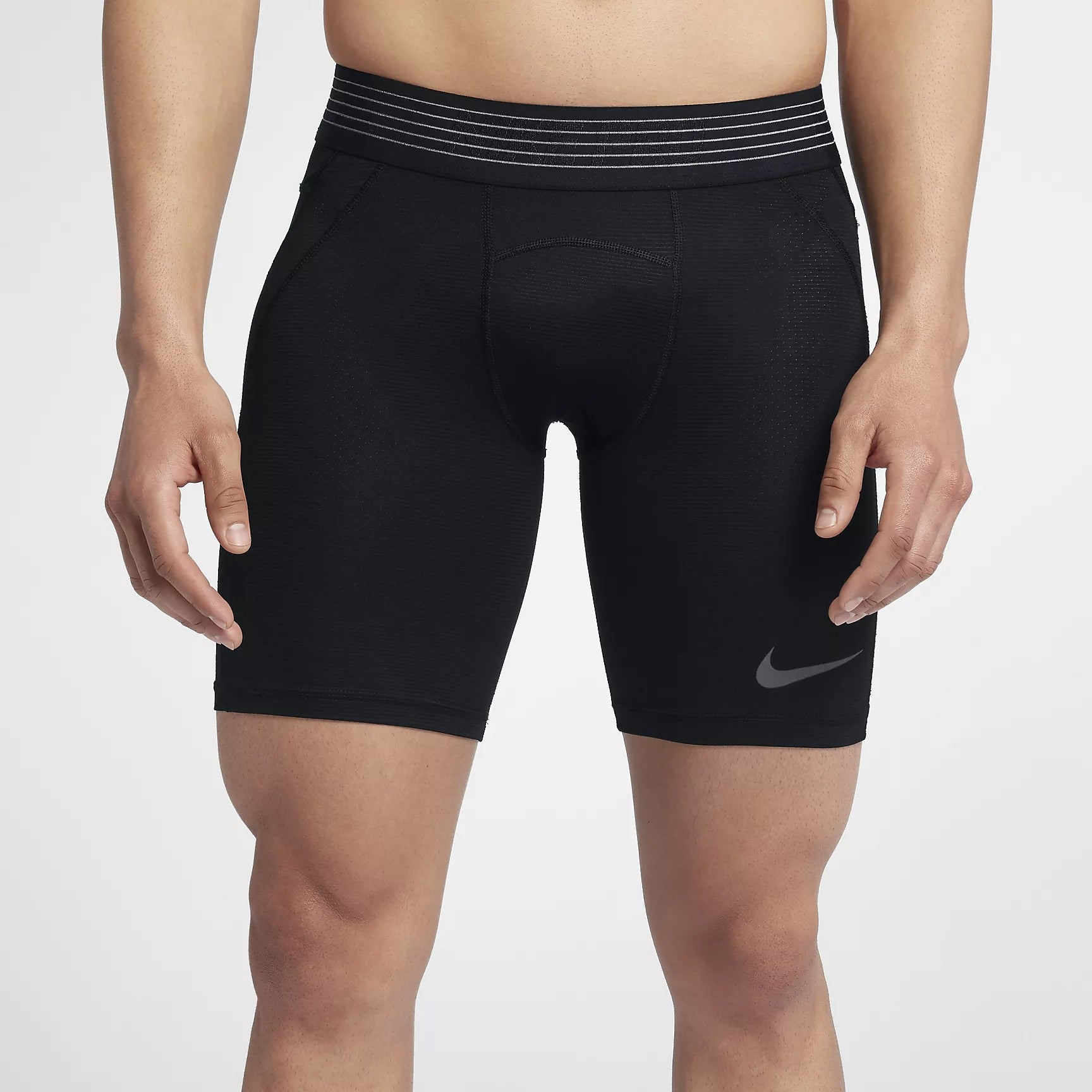 Men's Pro HyperCool Training Shorts - Black/Cool Grey