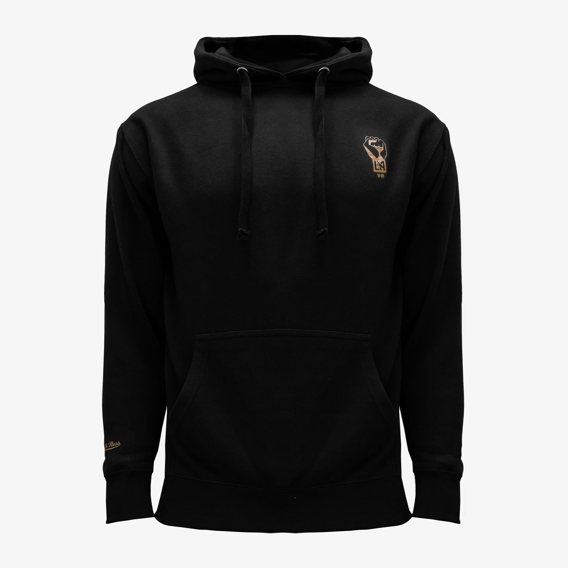 LAFC x Never Made Chain Hoodie - Black/Gold