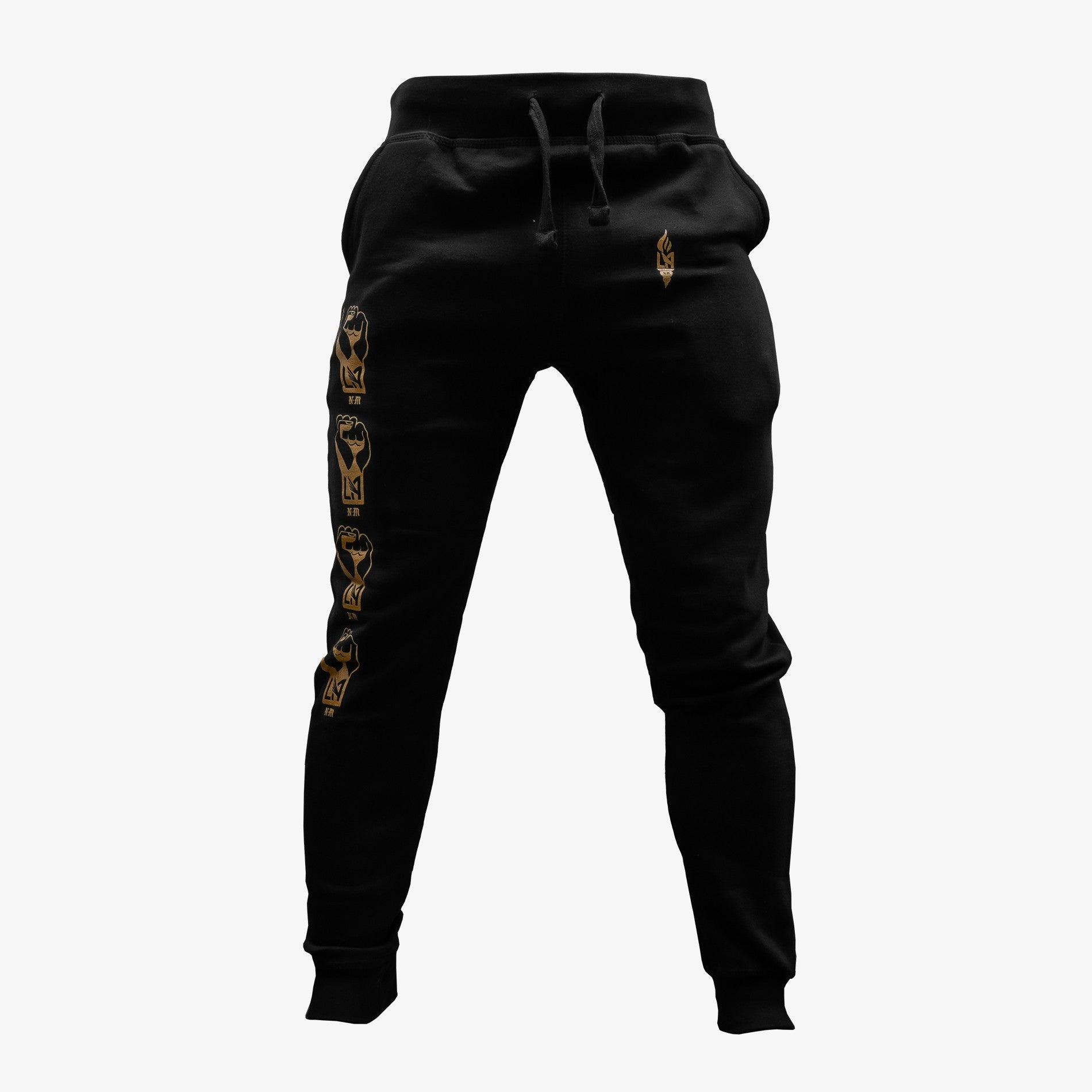 LAFC x Never Made Fist Sweat Pants - Black/Gold