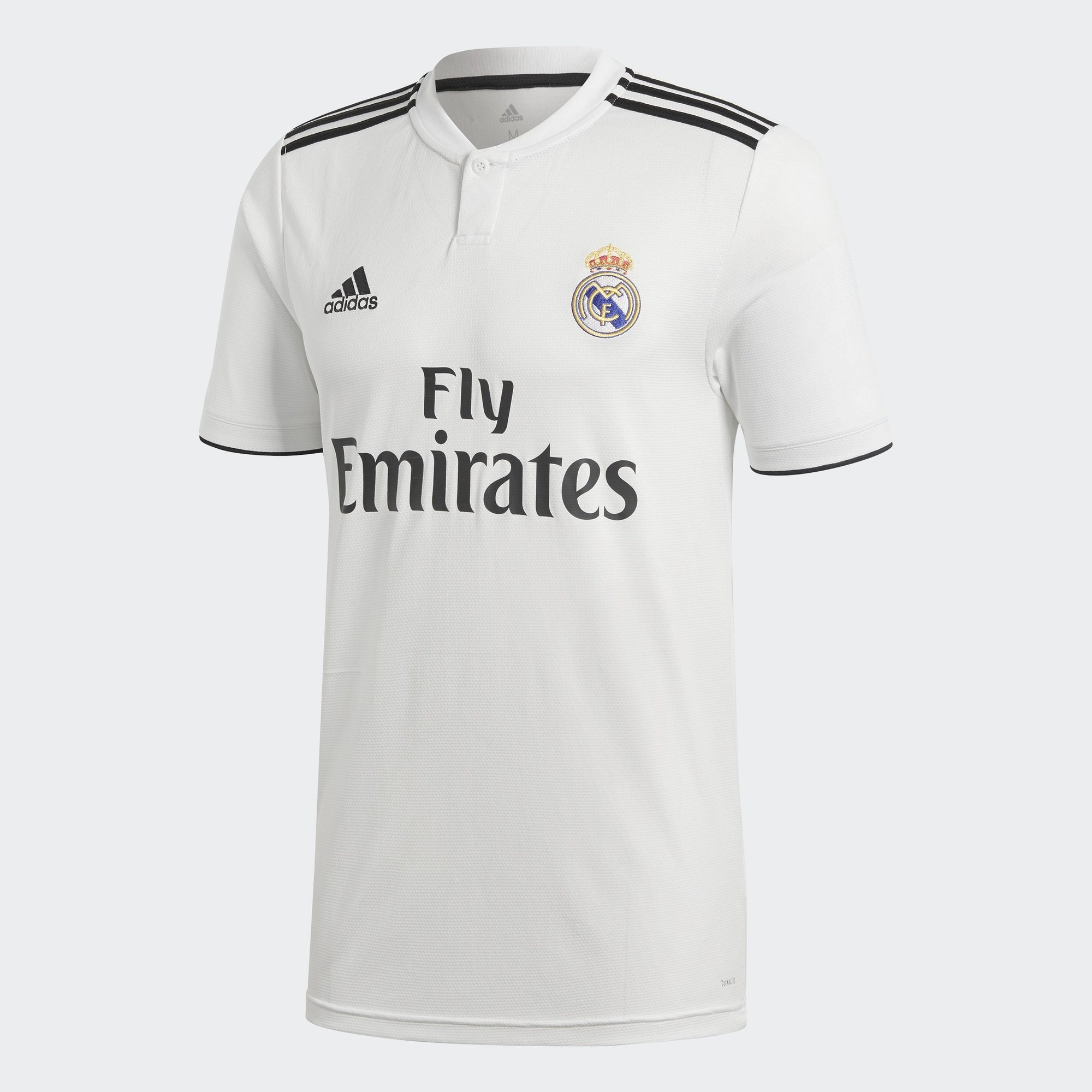 Men's Real Madrid 18/19 Home Jersey - White/Black