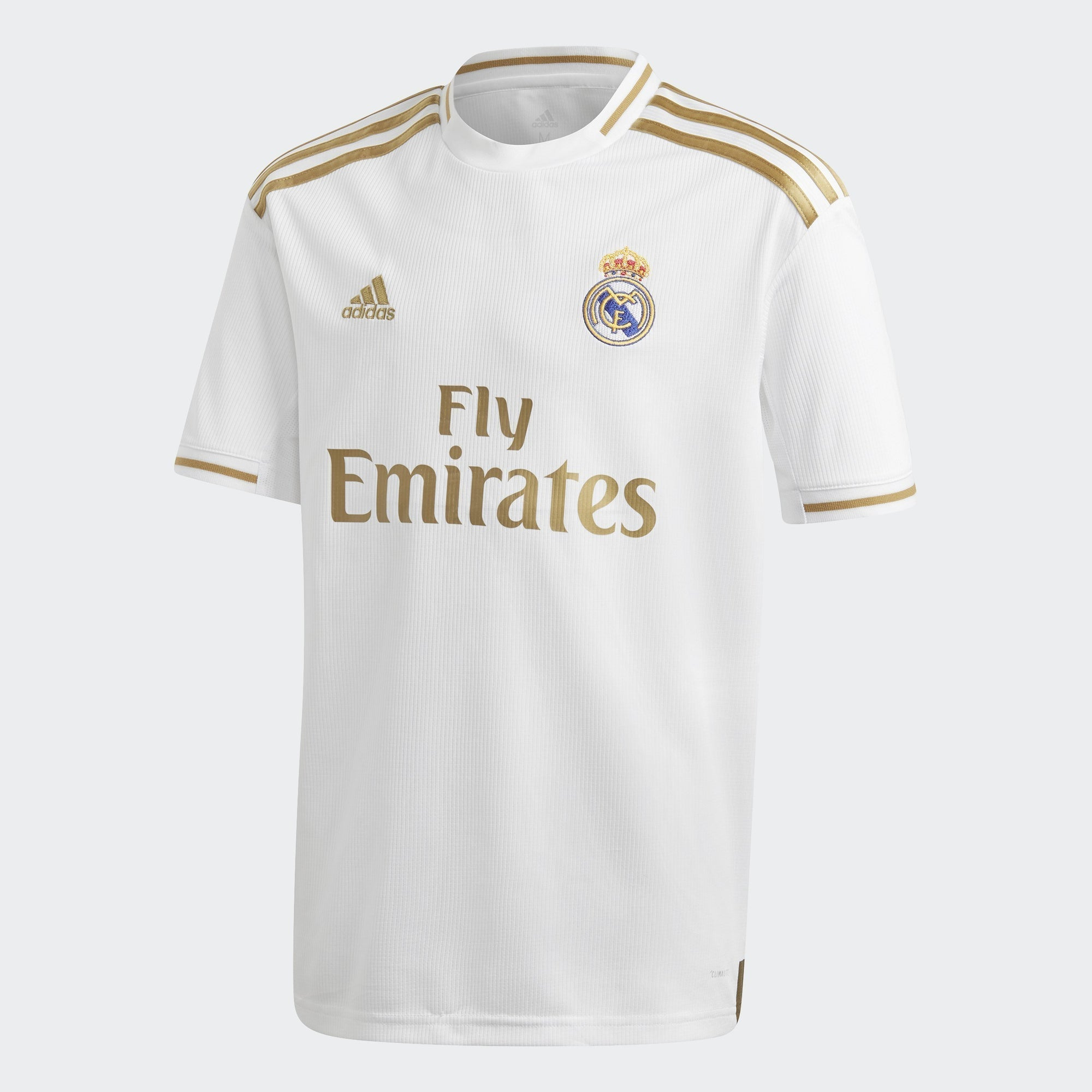 Kid's Real Madrid 19/20 Home Jersey - White