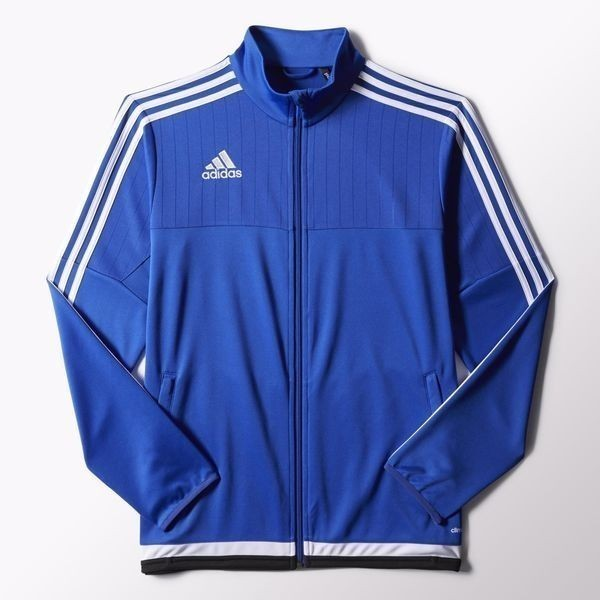 Kid's Tiro 15 Training Jacket - Bold Blue/White