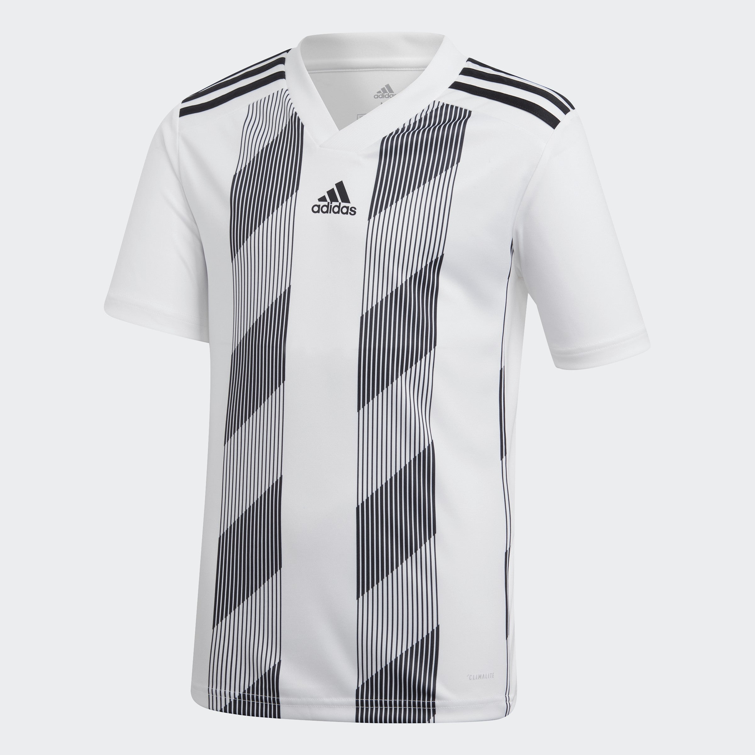 Youth Striped 19 Jersey-White / Black