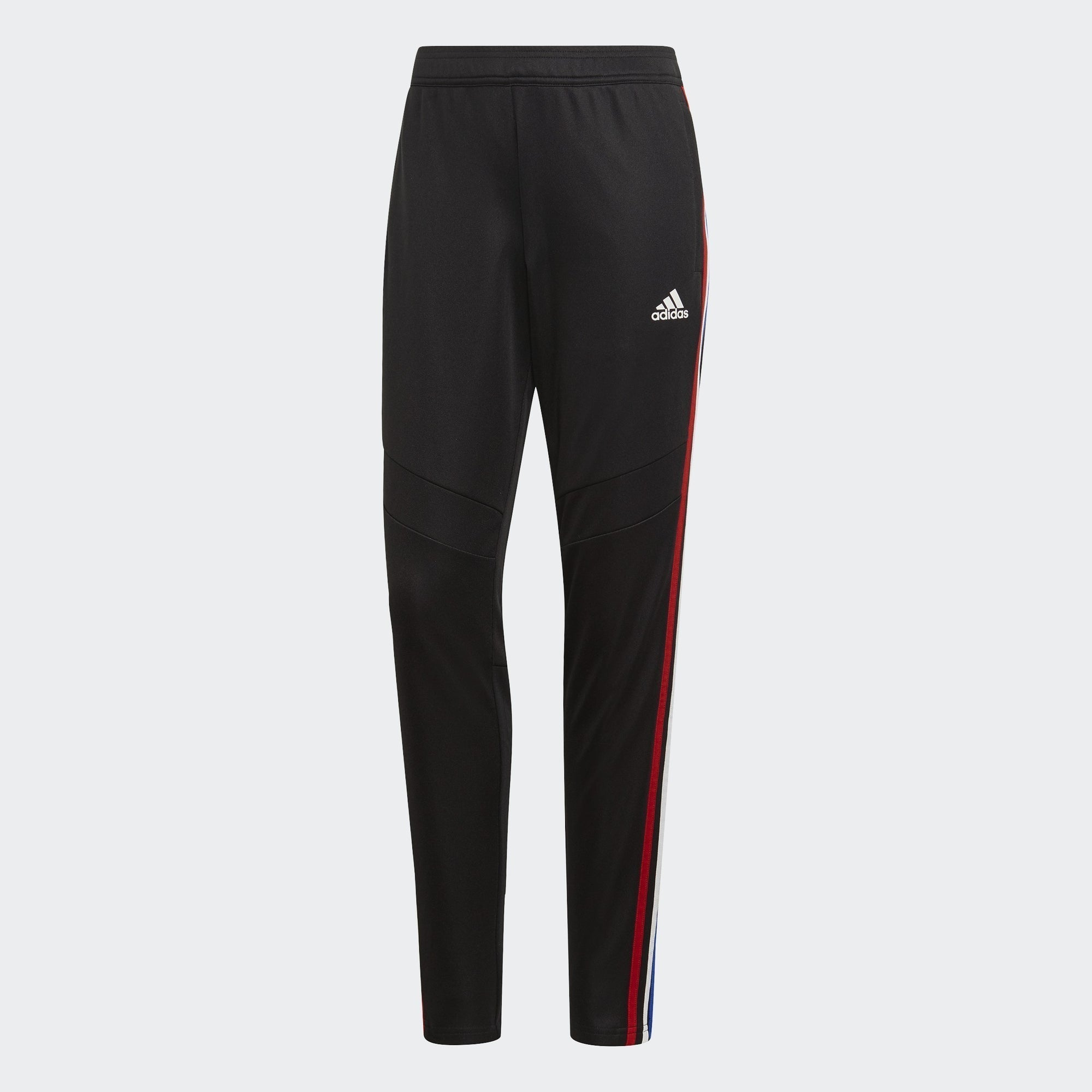 Women's Tiro 19 Training Pants - Black/Power Red/White/Bold Blue