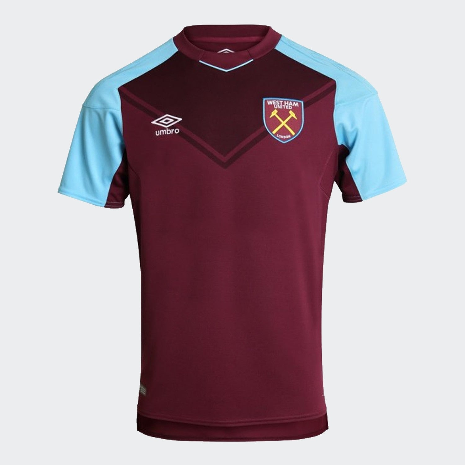 Kid's West Ham United 17/18 Home Jersey - New Claret/Bluefish