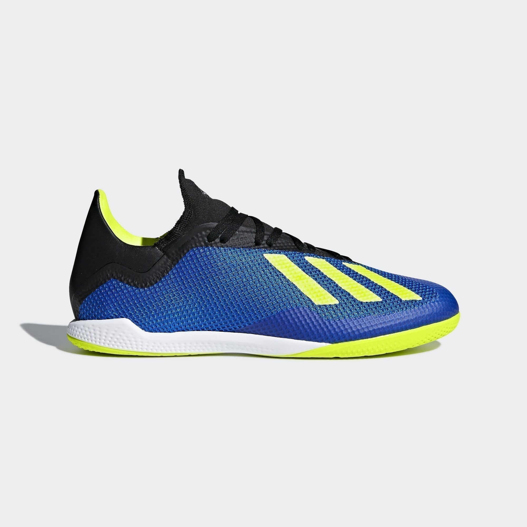 X Tango 17.3 Indoor Men's Soccer Shoes - Blue/Solar Yellow/Black
