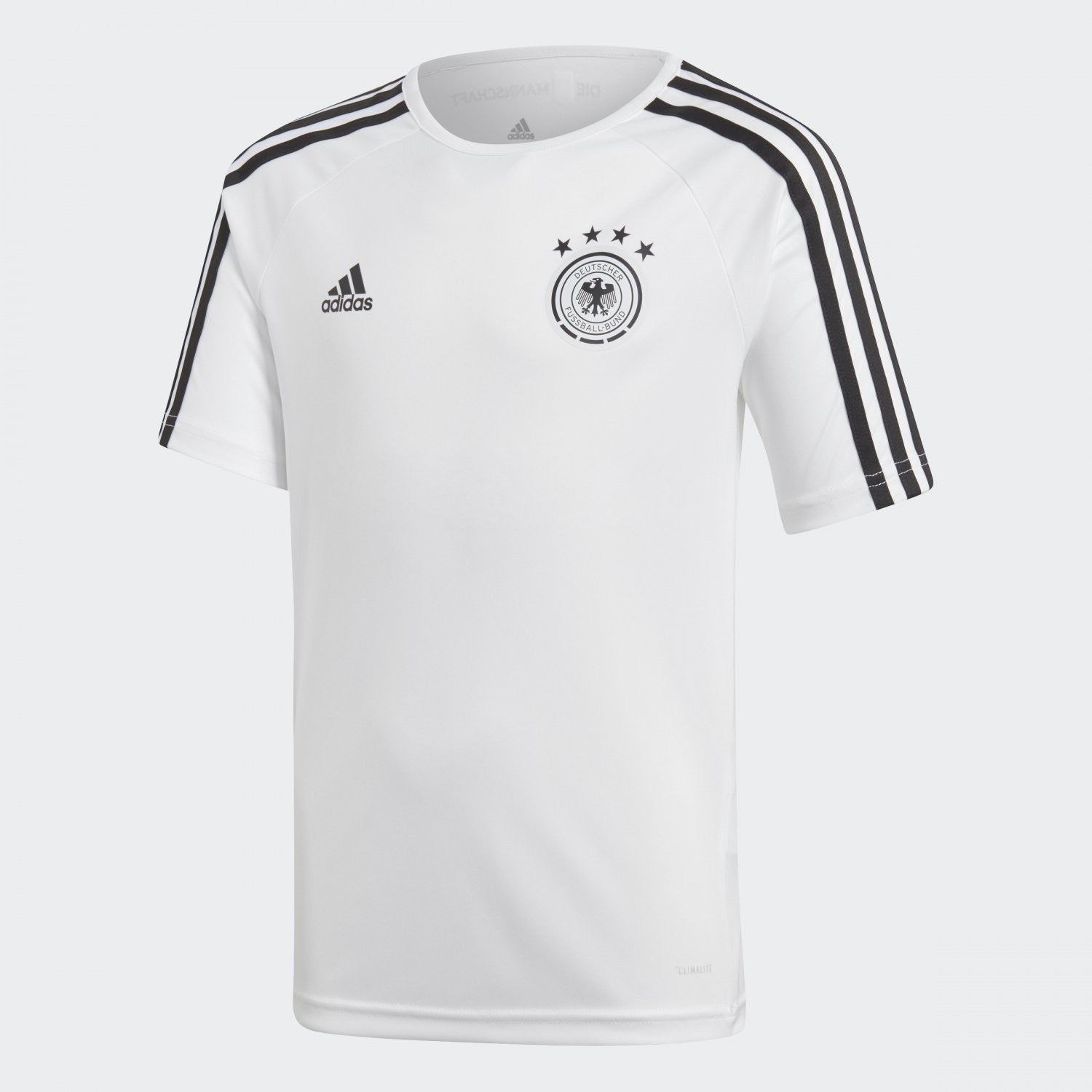 Kid's Germany Home Jersey - White/Black